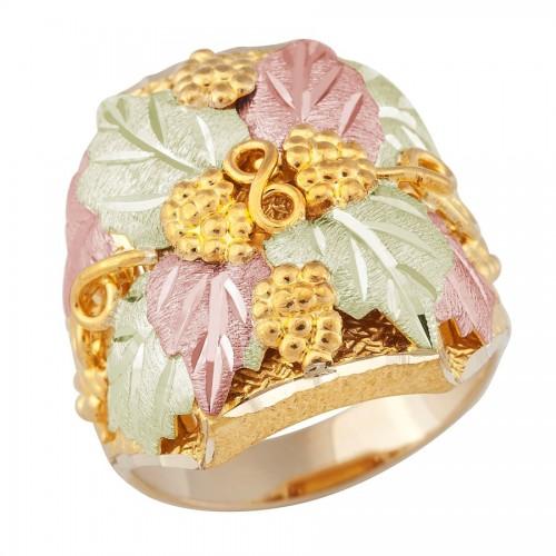 10k Gold Ring from Landstroms Black Hills Gold Jew...