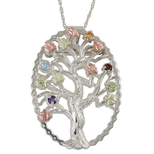 Black Hills Silver Family Tree Pendant