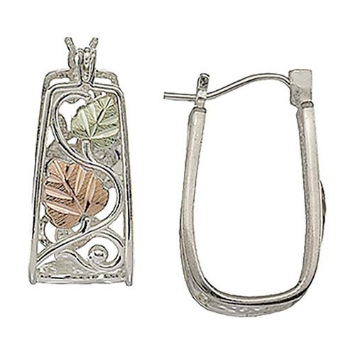 Black Hills Silver  Hoop Earrings