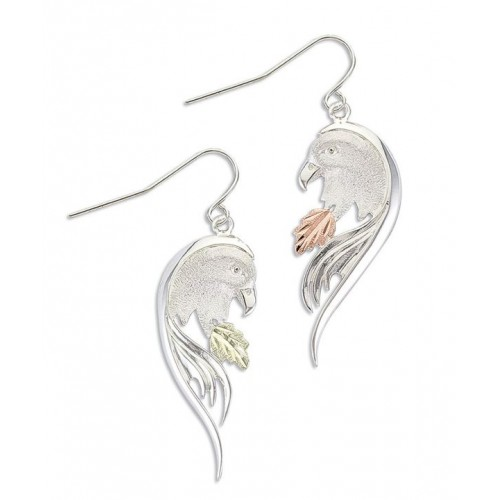 Black Hills Silver Eagle Earrings