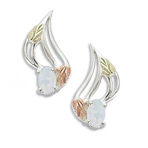 Black Hills Silver Opal Earrings