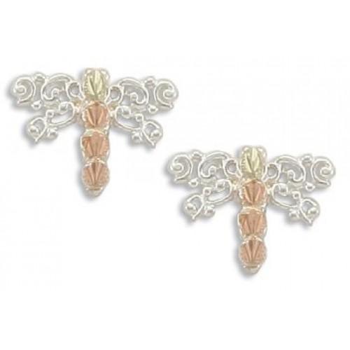 Black Hills Silver Dragonfly Earrings