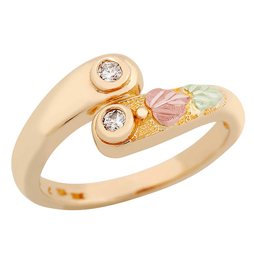 10K Gold diamond ring from Landstroms Black Hills ...