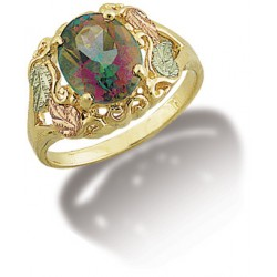 10k Gold Mystic Fire Ring