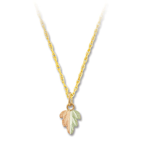 Split Leaf Pendant Necklace