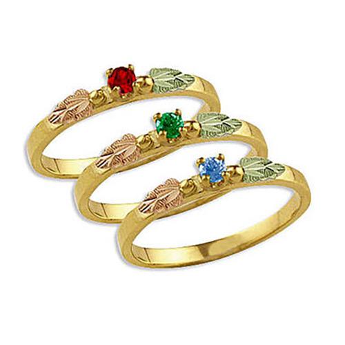 Silver Mothers Ring from Landstroms Black Hills Go...