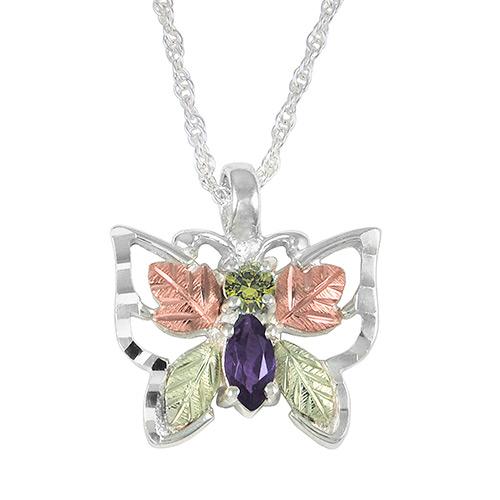 Black Hills Silver Butterfly Pendant