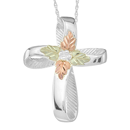 Black Hills Silver Cross Pendant