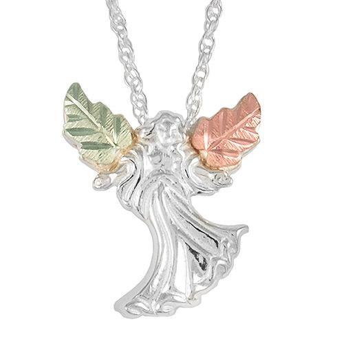 Black Hills Silver Angel Pendant