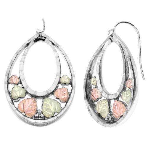 Black Hills Silver Oval Earrings