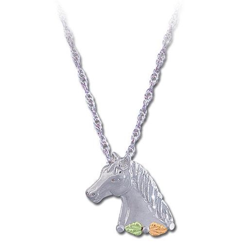 Black Hills Silver Horse Head Pendant