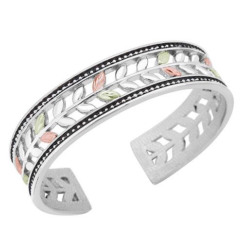 Landstroms Black Hills Silver Cuff Bracelets