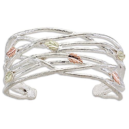 Black Hills Silver Grape Twigs Bracelets