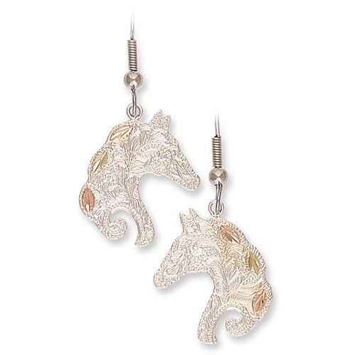 Horsehead Silver Earrings