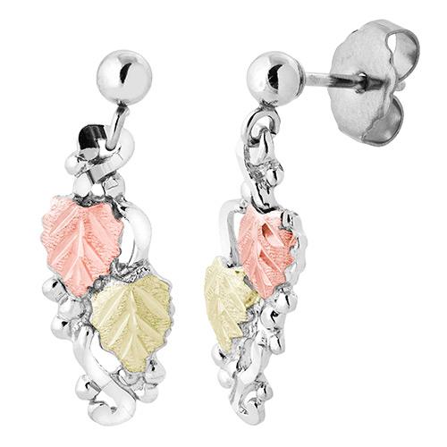 Landstroms Silver Ball Post Earrings