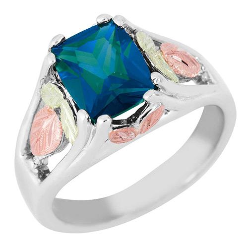 Alexandrite Black Hills Silver Ring