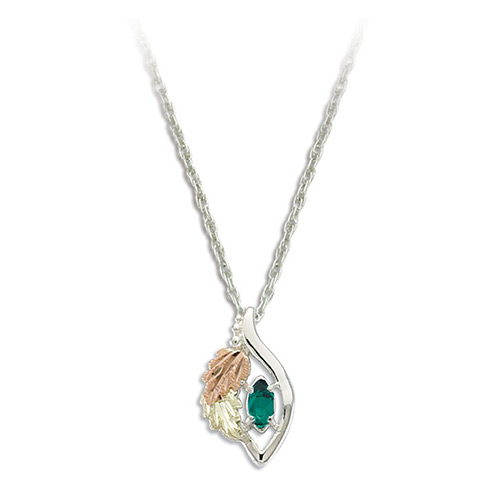 May Birthstone Necklace