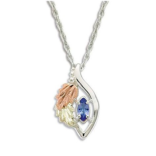 Genuine Tanzanite Black Hills Necklace