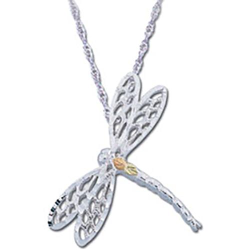 Black Hills Silver Dragonfly Pendant