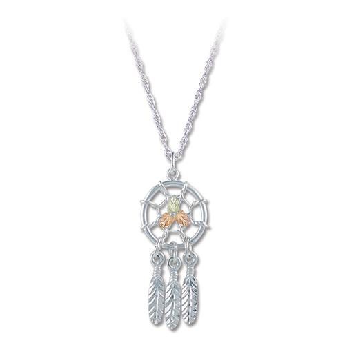 Black Hills Silver Dreamcatcher Pendant Necklace