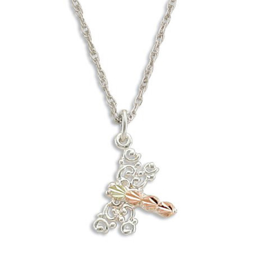 Black Hills Silver Dragonfly Necklace