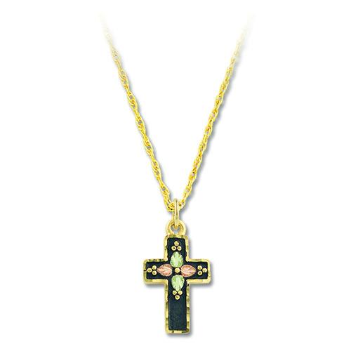 Black Hills Antiqued Cross Pendant