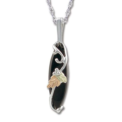 Black Hills Silver Onyx Pendant